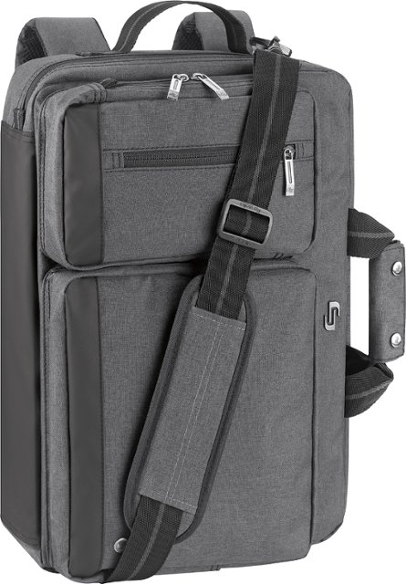 Solo - Urban Convertible Laptop Briefcase Backpack For College.