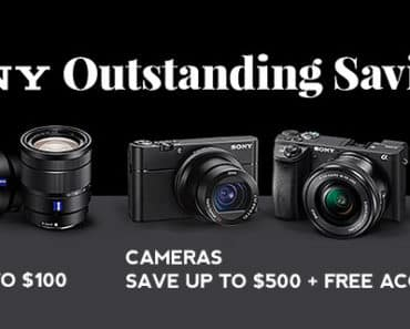 Sony Mirrorless Black Friday Camera Deals