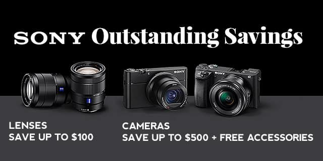 Sony Mirrorless Black Friday Camera Deals