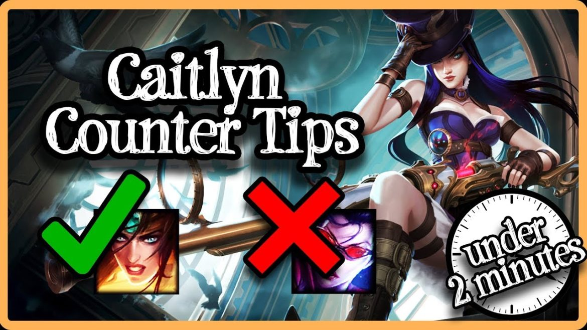 An image of Caitlyn attached to an article that teaches how to counter caitlyn in league of legends.