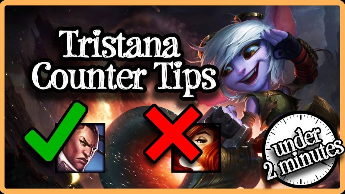 This image is part of an article that teaches about Tristana gameplay and counter tips & tricks when playing against her.