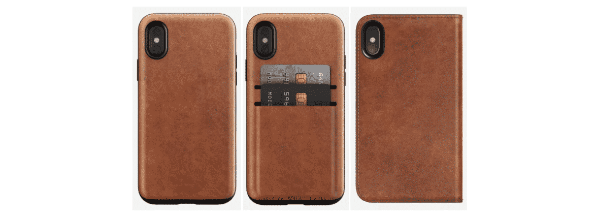 An image of an iPhone X wallet case by Nomad.