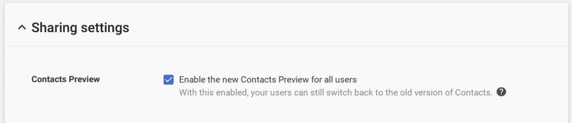 old google contacts deprecated as new and improved version begins roll out