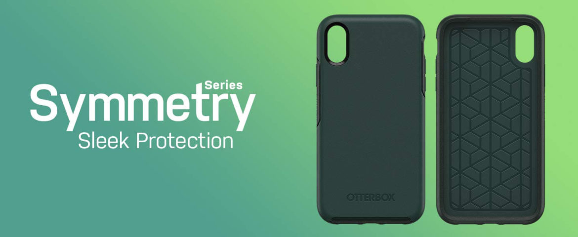 OtterBox's Symmetry series iPhone XS cases as seen in this image.