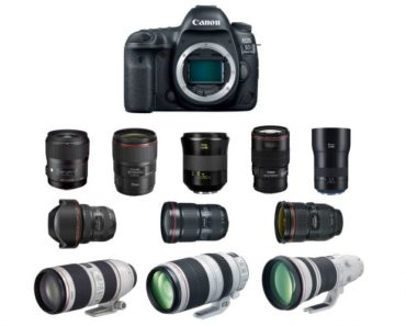 10 Best Lenses For Canon EOS 5D IV For Superb Image Quality