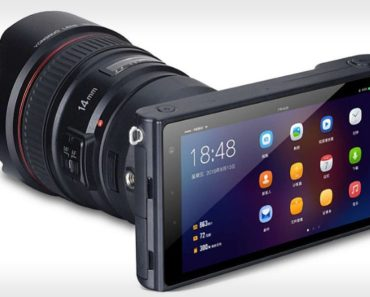 An image of the Yongnuo Yn450 4K mirrorless camera.