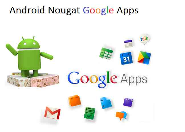 Gapps 7.1 Nougat Download, android nougat gapps