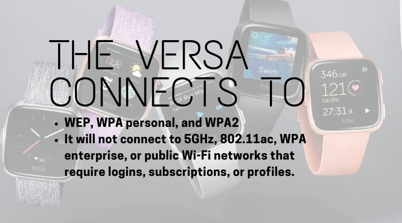 how to use wifi on fitbit versa