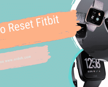 How To Reset Fitbit Versa