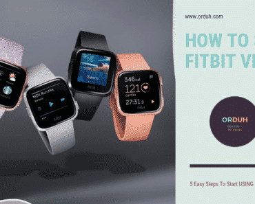 easy ways to set up fitbit versa